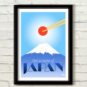 mont fuji, affiches, vivre a tokyo, visiter tokyo
