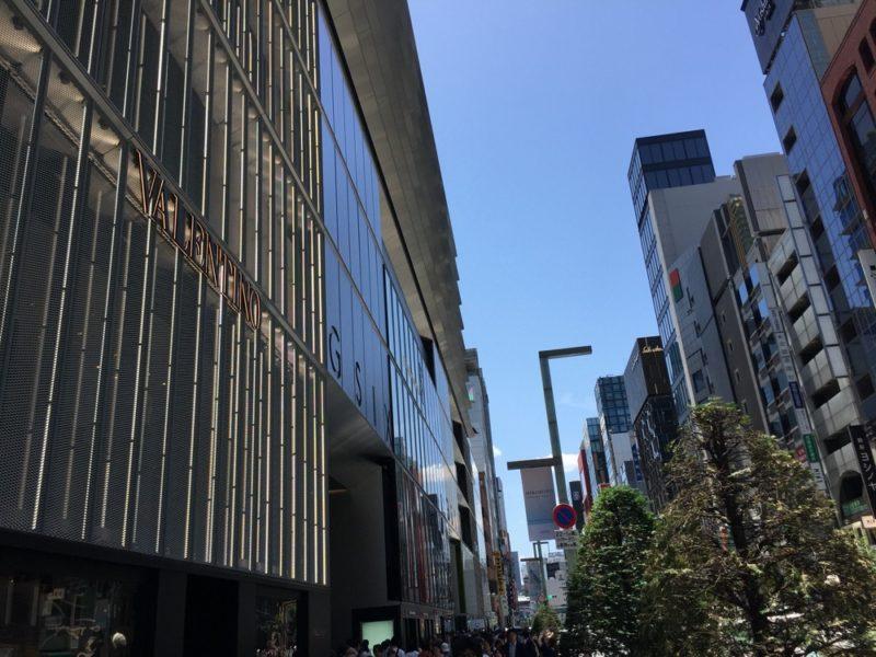 ginza six, tokyo, vivre a tokyo, visiter tokyo, shopping