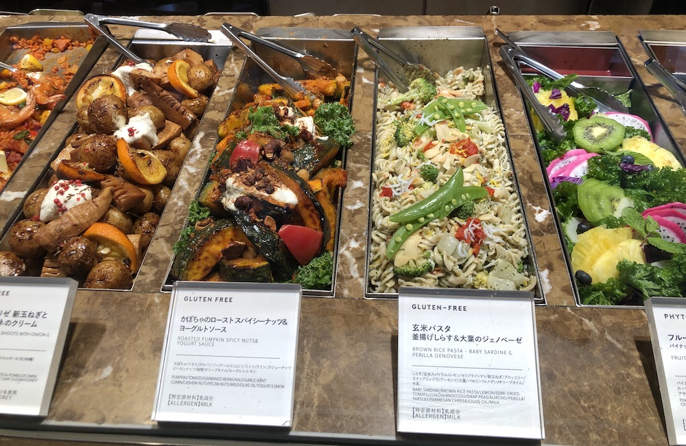 salades, vivre à tokyo