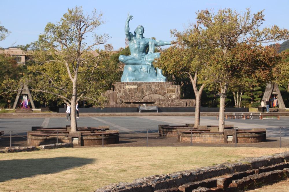 japon, nagasaki, parc de la paix
