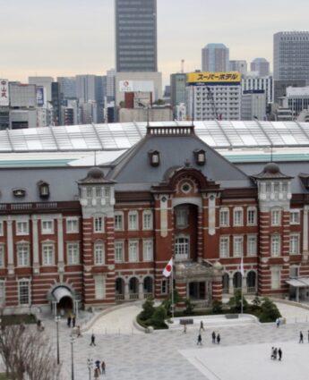 vivre à tokyo, visiter le japon, gare de tokyo
