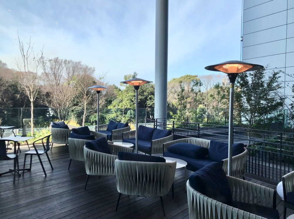 terrasse à tokyo, harajuku