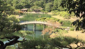 jardin japonais, vivre à tokyo