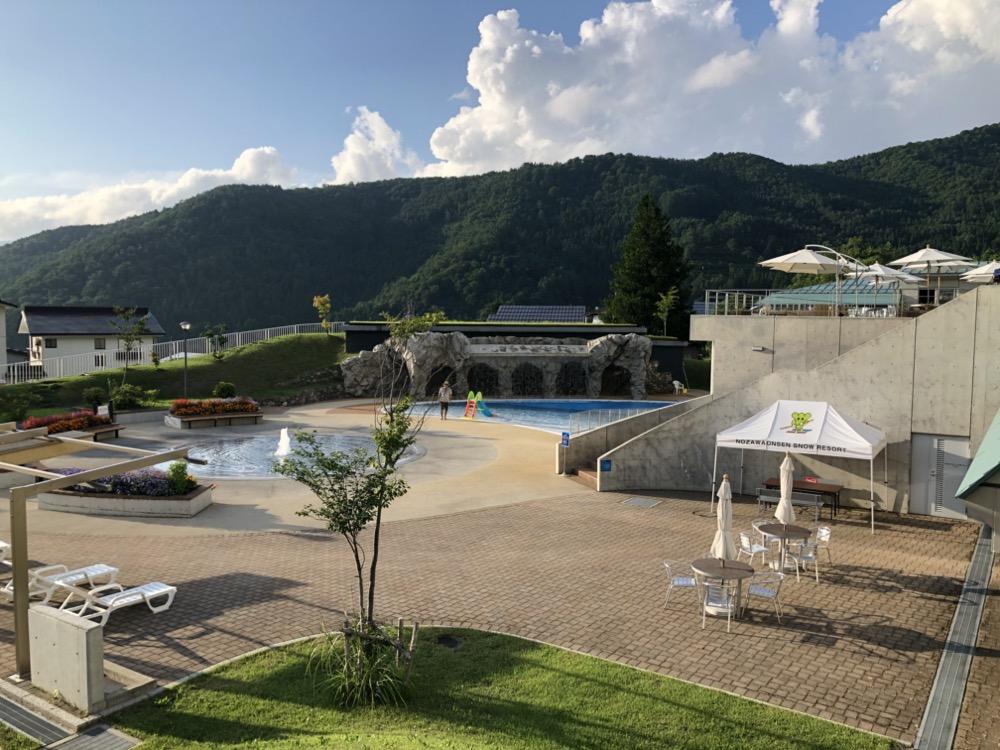 nozawa onsen, la piscine