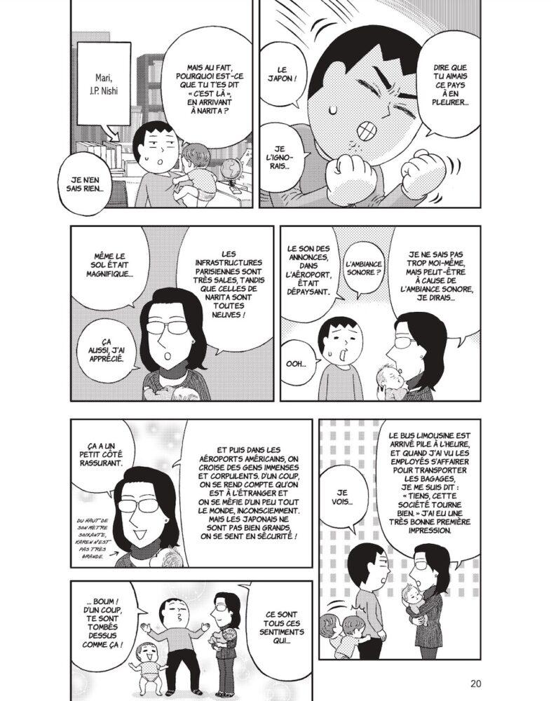 visiter le japon, manga