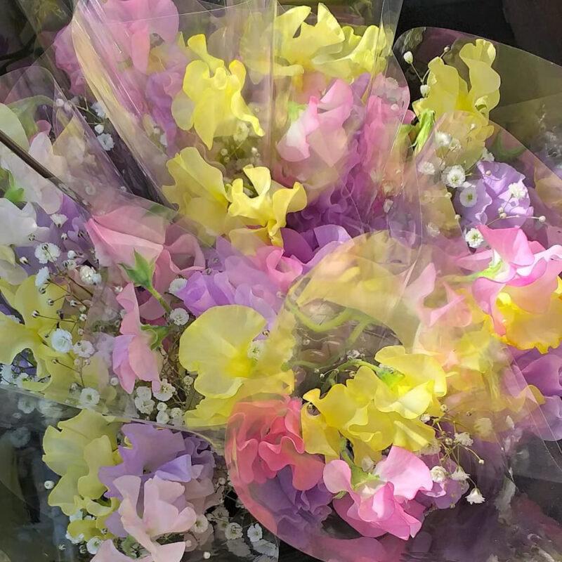 bouquet printannier du fleuriste près de la gare de Nakamurabashi