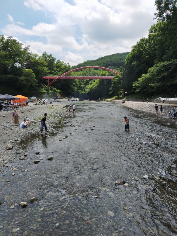 rivière Iruma gawa à Hannô