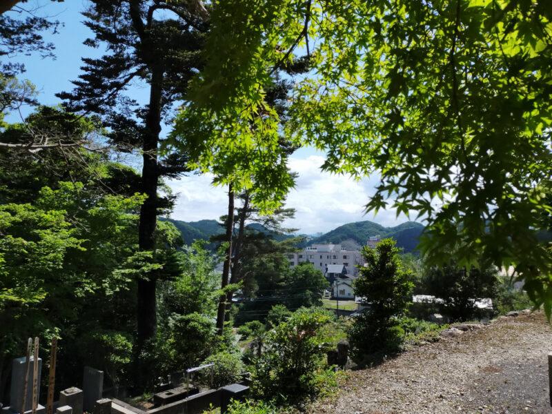 Le mont Tenzanran à Hannô
