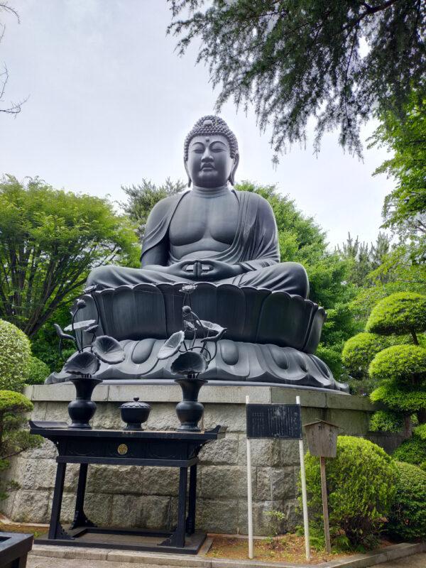 bouddha géant du temple Jôrenji