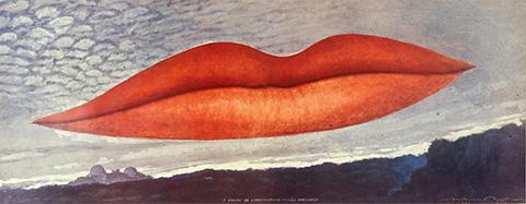 Peinture de Man Ray, 1970
