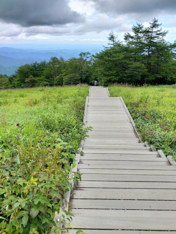 escalier Kirifuri Plateau