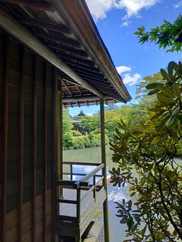 maison de thé du jardin Rin-no-ji à Nikko