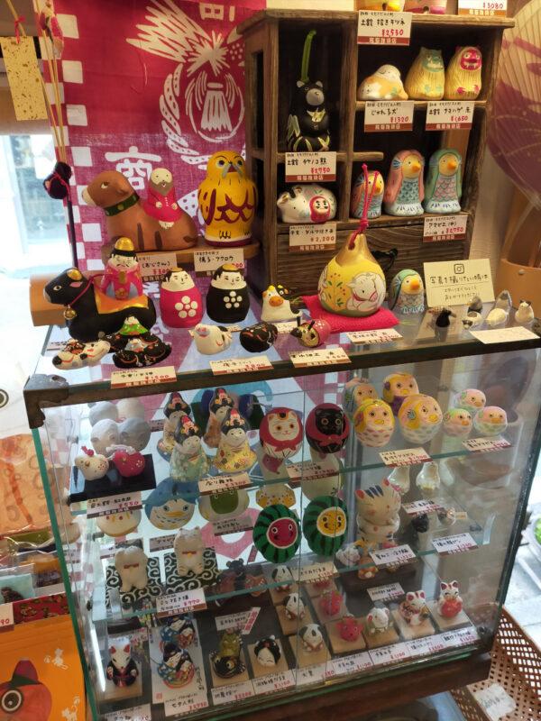 intérieur boutique Tabineko Zôshigaya